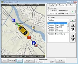 ShowGPS - Mapview and search